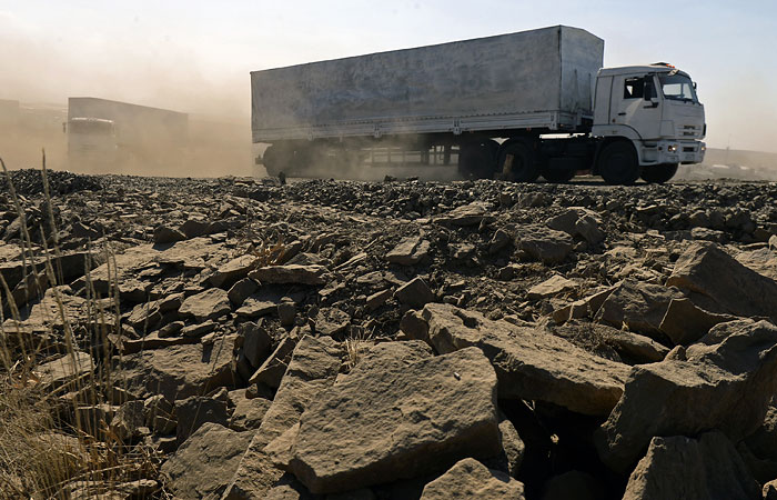 Россия направит второй гуманитарный конвой  в Новороссию