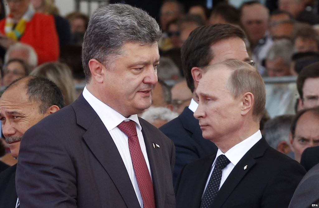 Договорятся ли Путин и Порошенко в Минске?