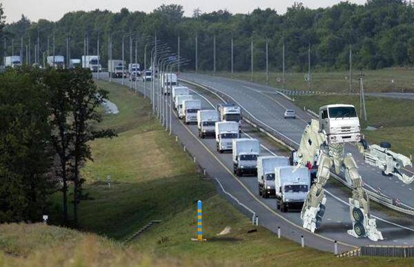 Белый конвой - это лекарство для Украины