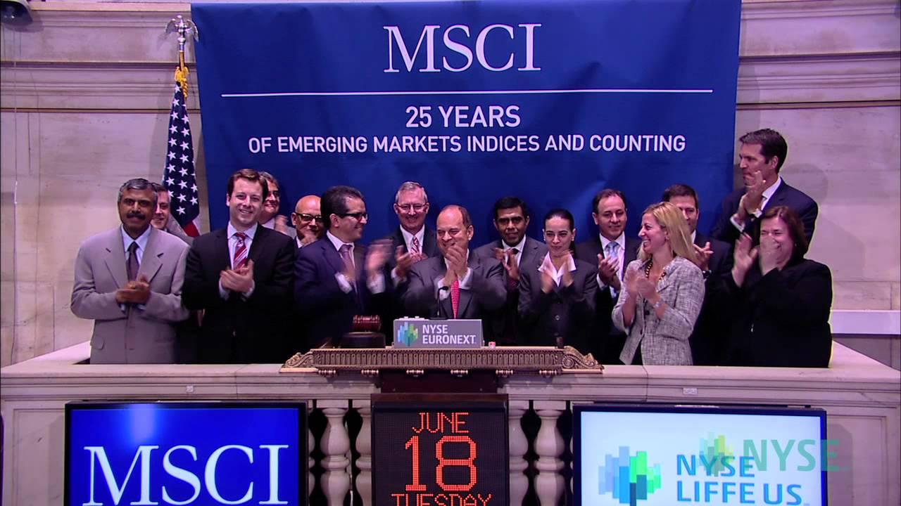 MSCI запустил ряд новых индексов, не включающих Россию