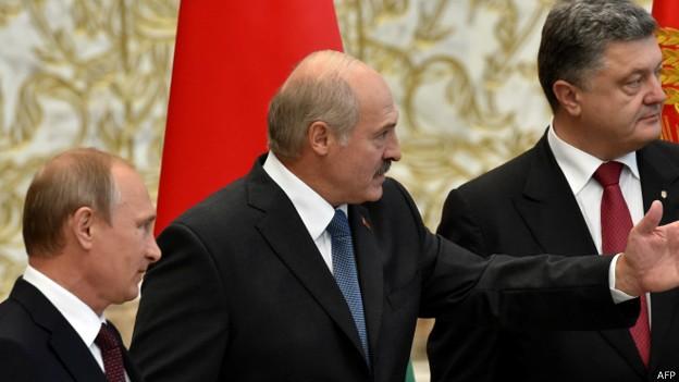 Путин и Порошенко начали переговоры с глазу на глаз
