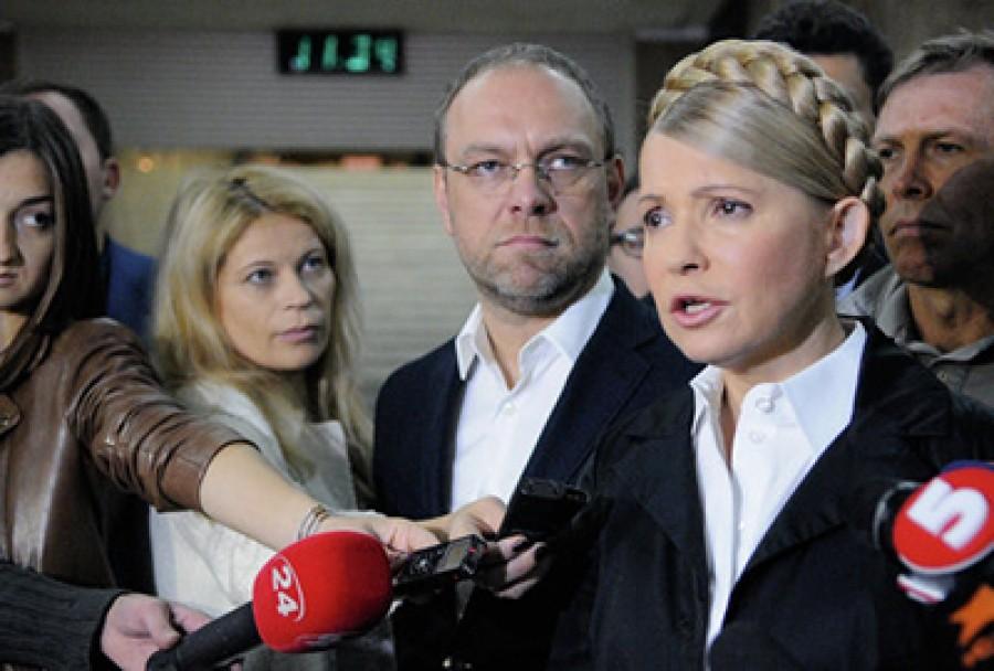 Тимошенко подала в СБУ заявление с компроматом на Министерство Обороны