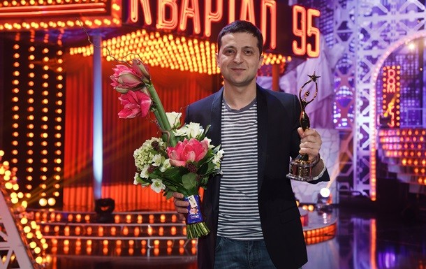 Украинский комик Зеленский снова неудачно пошутил