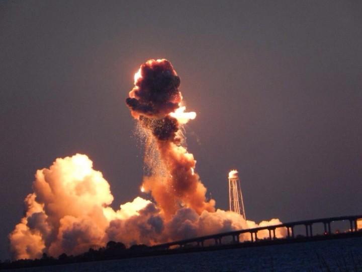 В США взорвалась украинская ракета