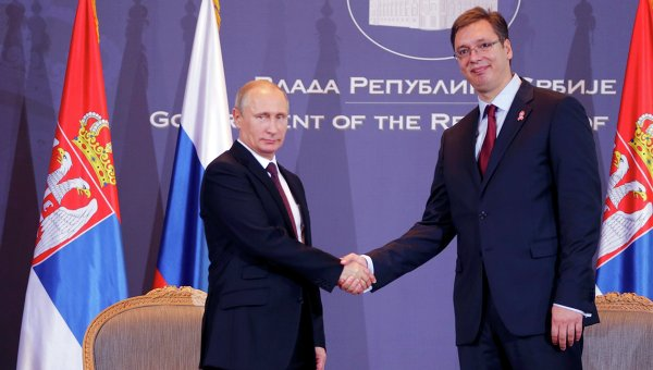 Сербию вынуждают выступить против России
