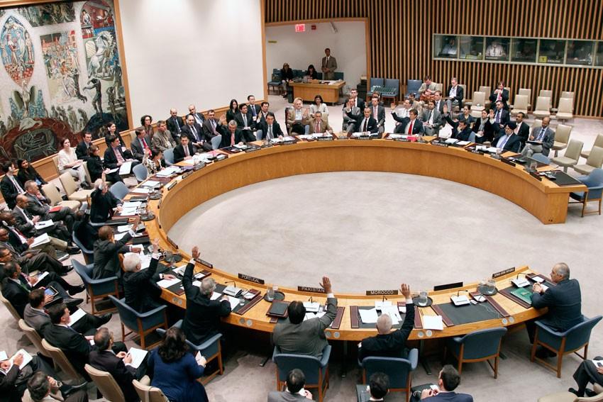 Расшифровка выступлений на Совбез ООН