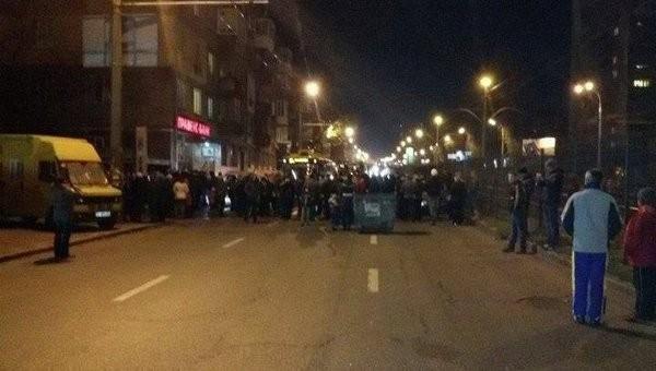 На Украине начались протесты из-за отсутствия света и тепла
