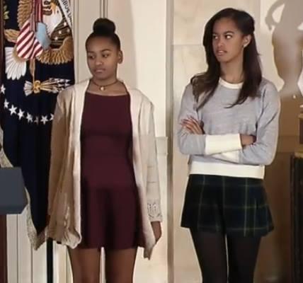 Шутка Обамы, сделала дочкам рекламу