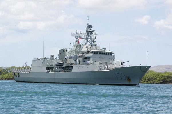 Российский флот заставил автралийцев нервничать
