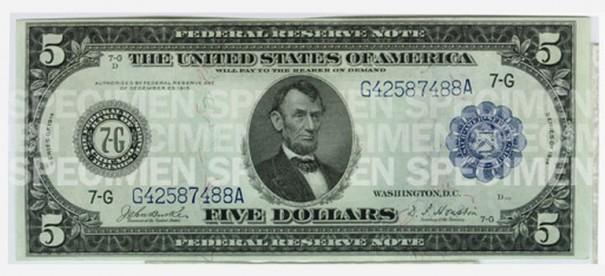Доллару США исполняется 100 лет