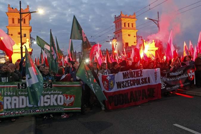 Польские радикалы за сотрудничество с Российской империей