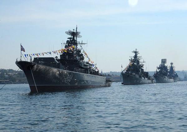 Российский флот развертывается в Средиземноморье