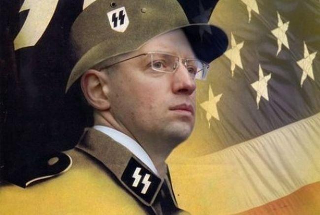 Яценюк, Гитлер и ЦРУ как освободители народов от «ига России»