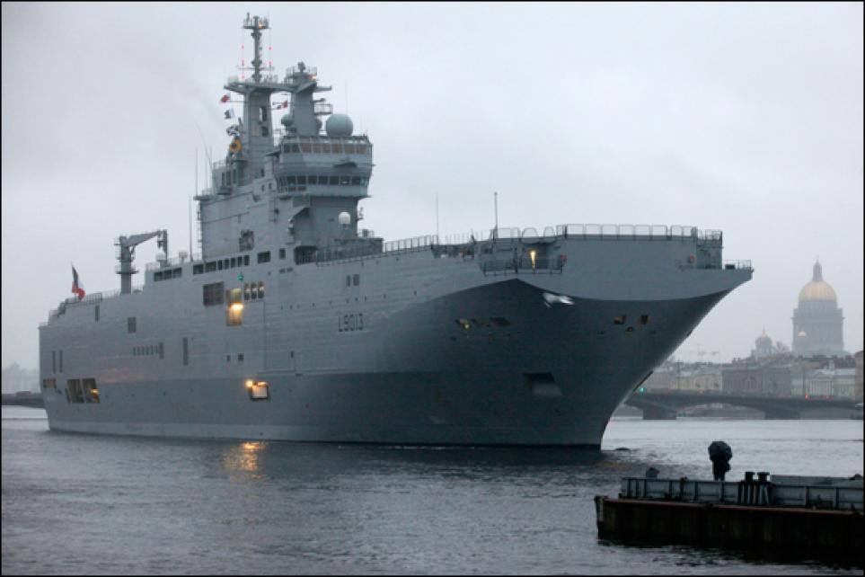 Россия потребовала от Франции официального отказа в поставке «Мистраля»