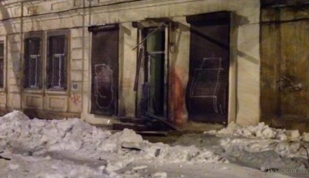 В очередном одесском взрыве, естественно, виноват Владимир Путин
