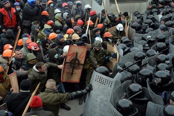 Взгляд из Киева: революцией и не пахнет