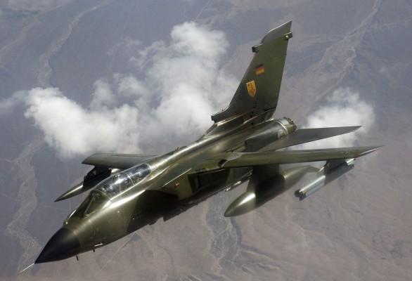 Истребитель-бомбардировщик Tornado IDS ВВС ФРГ