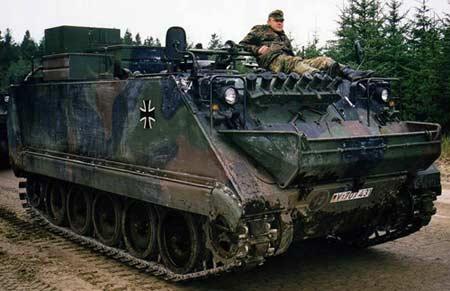 Самоходный миномет M113A1G PZM