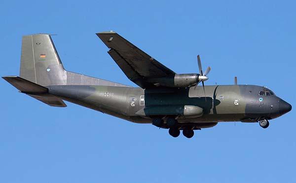 Военно-транспортный самолет Transall C-160 ВВС ФРГ