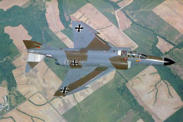 McDonnell Douglas F-4F Phantom II ВВС ФРГ