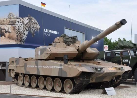 Последняя модификация знаменитого немецкого танка Леопарда 2 - Леопард 2А7+
