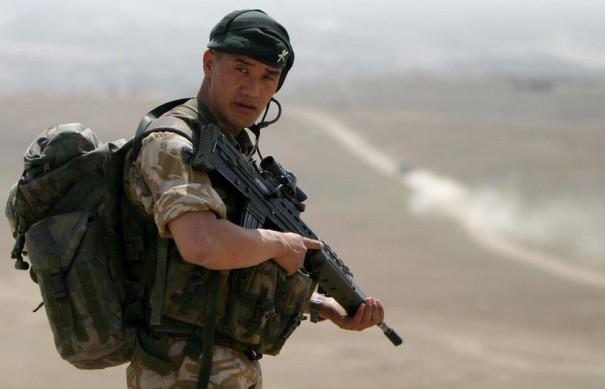 Гуркхи Ее Величества в составе британского экспедиционного корпуса в Афганистане, провинция Гильненд