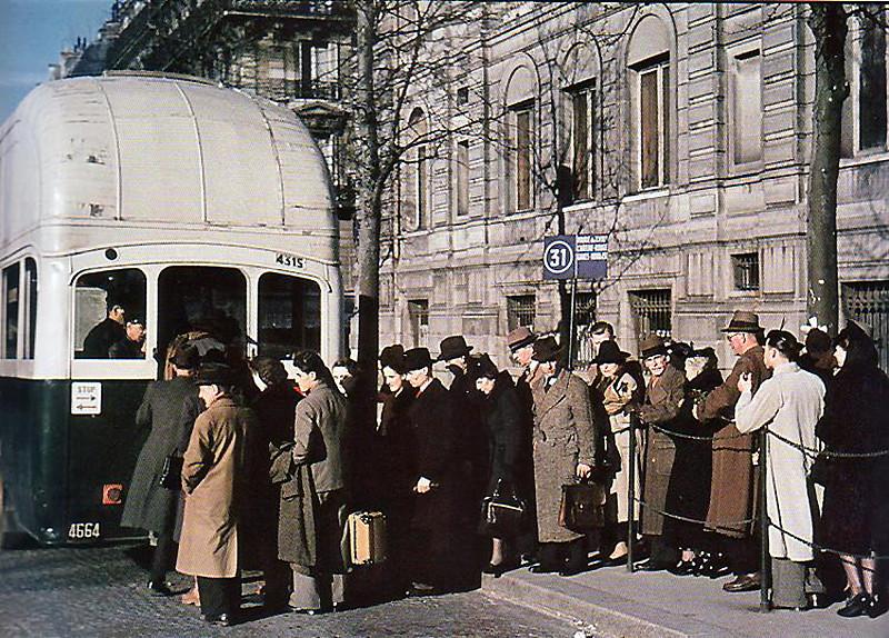Париж в оккупации 1941-44г