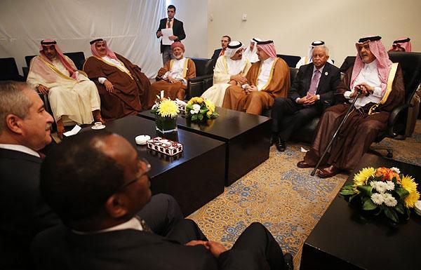 Главы МИД Лиги арабских государств в Шарм-эш-Шейхе, 26 марта 2015 г.