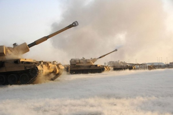 "САУ AS90 Braveheart, модификация с ""коротким стволом"", в 39 калибров."