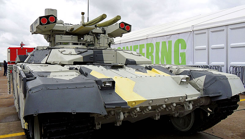 «Терминатор-2» создан на базе танка Т-72.