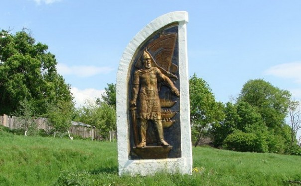 Памятный знак у Турово