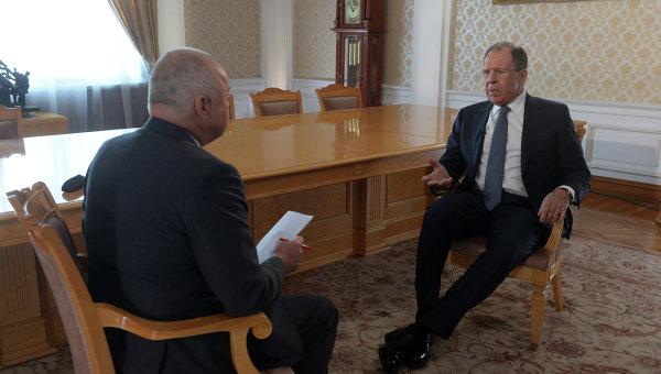 """Лавров в интервью """"России сегодня"""" рассказал о Йемене, Иране и Украине"""