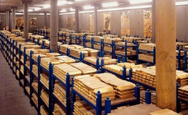 Золото покидает США и возвращается домой