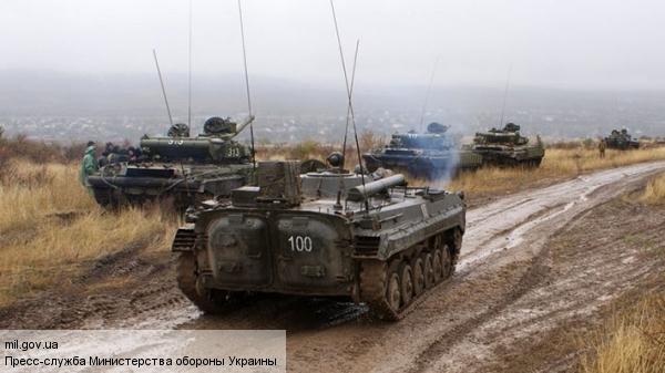Силовики попробовали пойти в атаку под Донецком