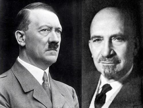 Адольф Гитлер и Хаим Вейцман