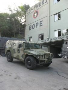 Бразильский спецназ оснащается российскими  бронемашинами «Тигр»