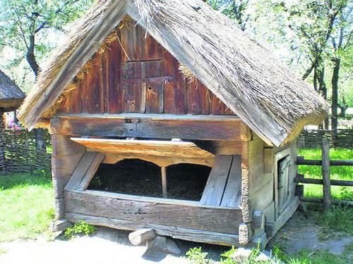 Саж — свиной домик. Тут в старом украинском селе сидели свиньи. Название возникло от слова «сажать»