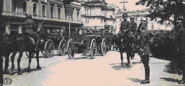 Польский парад в захваченном Киеве