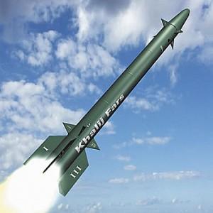 Противокорабельная баллистическая ракета Khalij Fars.