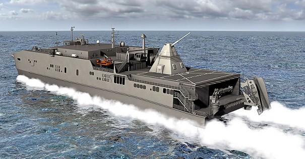 В следующем году планируется начать морские испытания ЭМП на скоростном транспортном судне Millinocket.