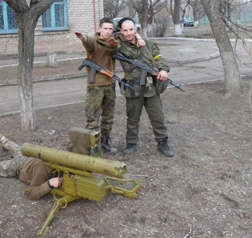 """На Украине нет фашизма. Фашики из """"Азова""""."""