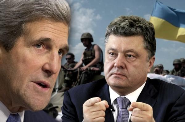 """Киев готовится к новому нападению на Донбасс, Керри едет """"прощупывать почву"""""""