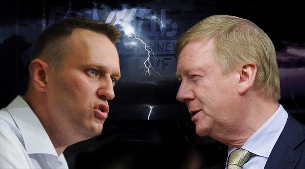 """Дебаты Чубайс-Навальный: """"Рыжий прошелся по дерзкому как паровой каток"""""""