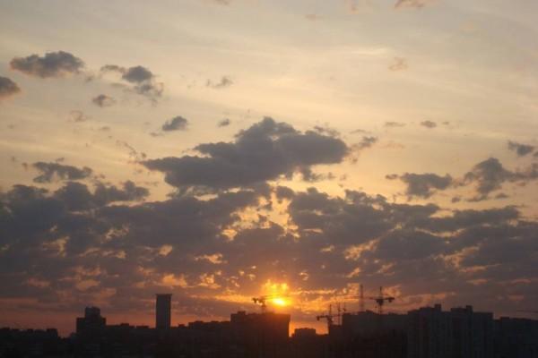 Рассвет в Самаре