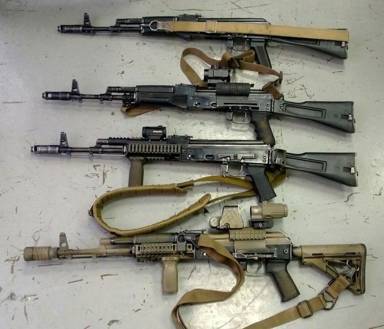 Доработка оружия в спецназе