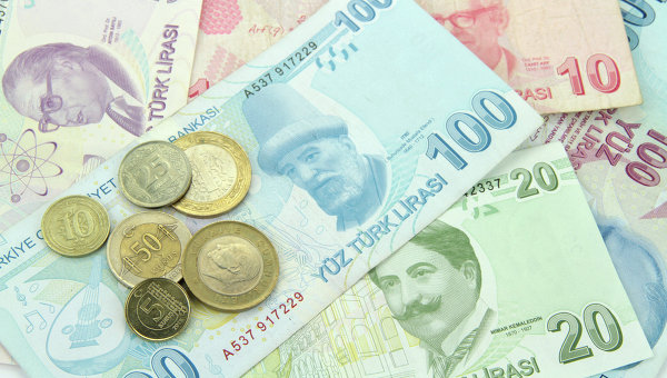 Турецкая лира обновила минимум на данных о провалившихся переговорах