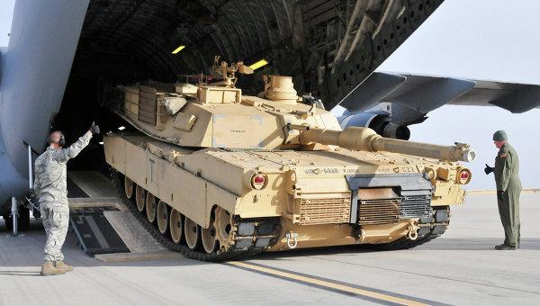 """США отправили в Болгарию танки и артиллерию для """"сдерживания России"""""""