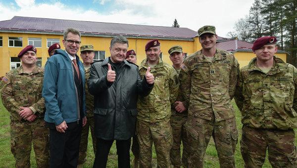 Яворовский полигон, где проходят учения Украины и США, обокрали