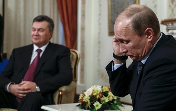 Виктор Янукович таил обиду на Владимира Путина с первых дней президентства
