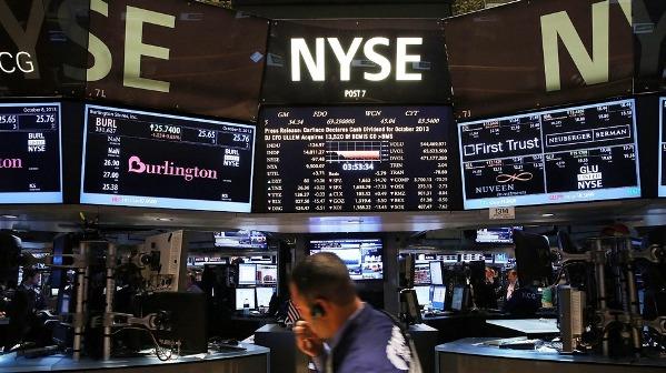 Фондовые индексы США резко упали во вторник на статданных из Китая